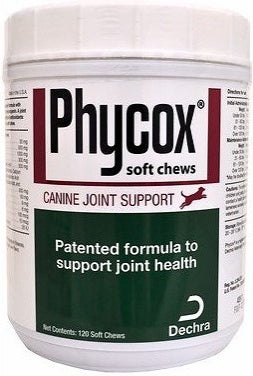 Phycox Soft Chews Joint Support Dog Supplement