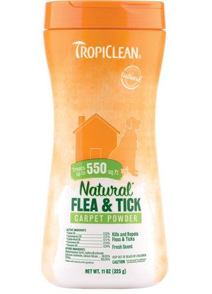 Tropiclean Flea and Tick Carpet & Pet Powder