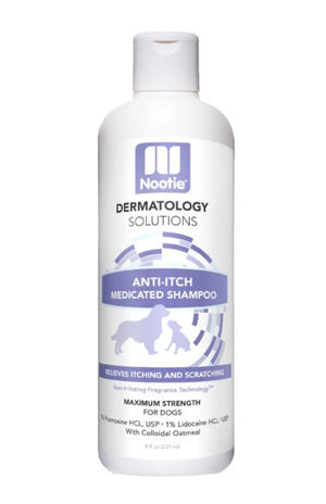 Nootie Dermatology Solutions Anti-Itch Medicated Shampoo For Dogs
