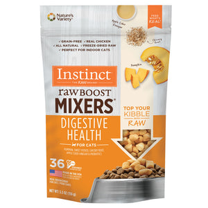 Nature's Variety Instinct Raw Boost Mixers Grain Free Gut Health Freeze Dried Raw Dog Food Topper