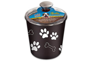 Loving Pets Bella Canister Espresso Treat Holder