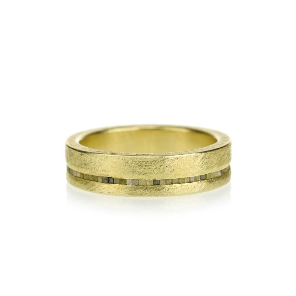 Natural YG Ring by Todd Reed - 7 / 18k yellow gold