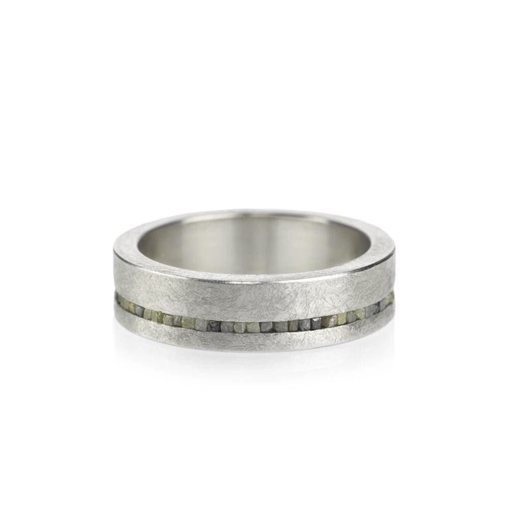 Natural YG Ring by Todd Reed - 7 / Sterling Silver