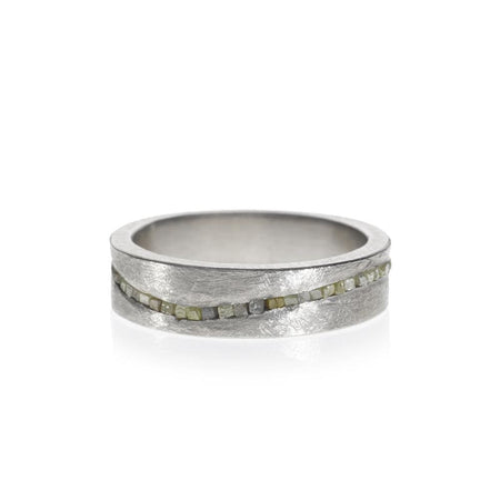 Raw Wave Ring by Todd Reed - 7 / Sterling Silver