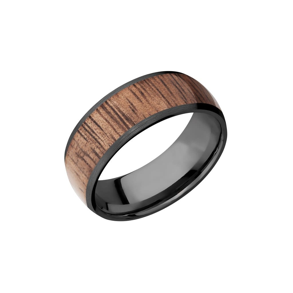 Sparrow - Koa - 7 / Black Zirconium