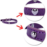 Heart Shaped Cat Collar