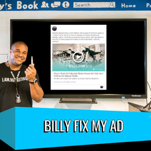 Billy Fix My Ad