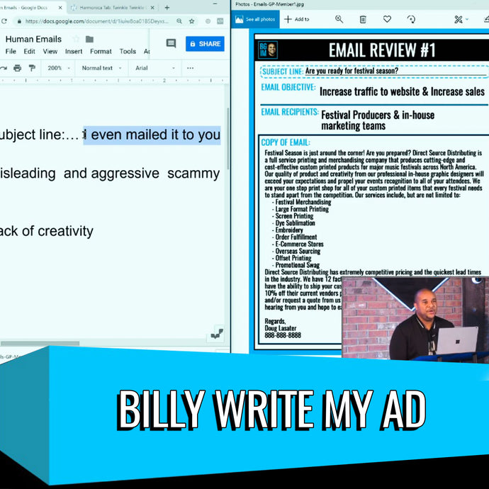 Billy Write My Ad