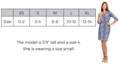 Hamilton Dress Size Guide