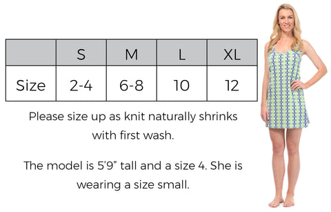 Boat Dress Size Guide