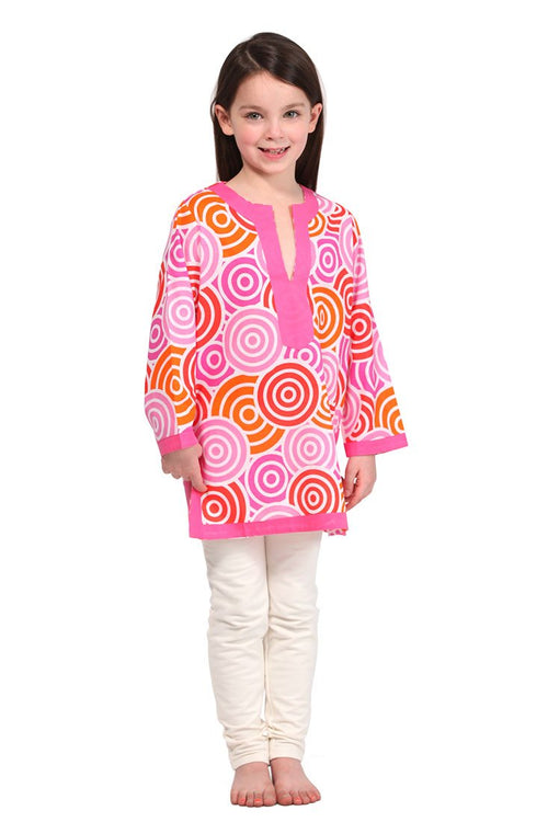 Jubilee Pink Girl's Cover Up
