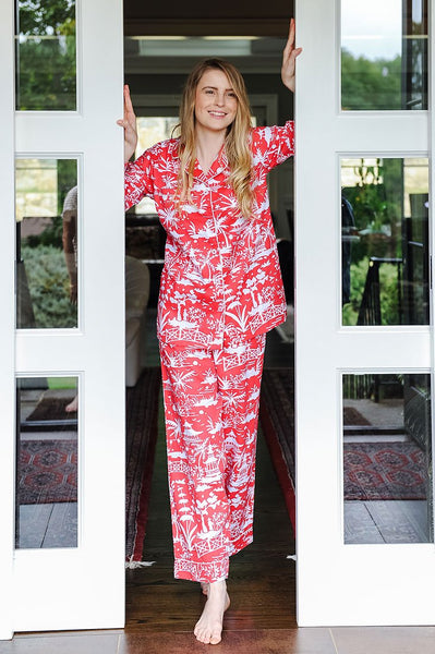 Shanghai Sateen Full Pajama Set