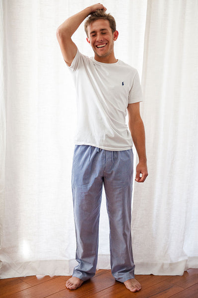 Ticking Stripe Men's Loungewear