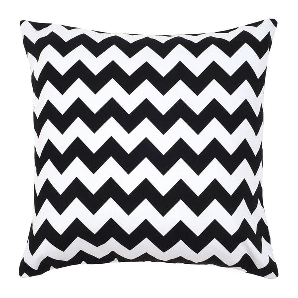 Chevron Black Pillow Cover
