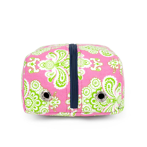 Istanbul Pink Lime Travel Shoe Bag