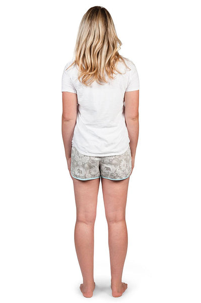 Jaipur Grey Women's Pajama Shorts