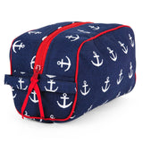 Anchors Navy Travel Kit