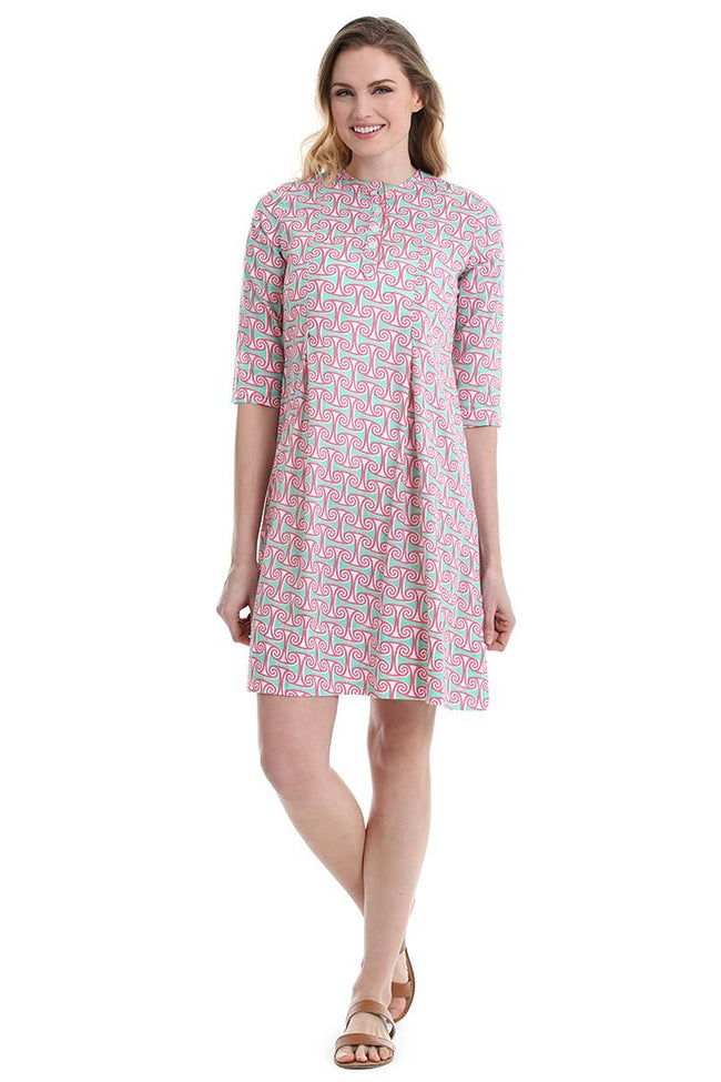 Alice Coral Bridgehampton Dress