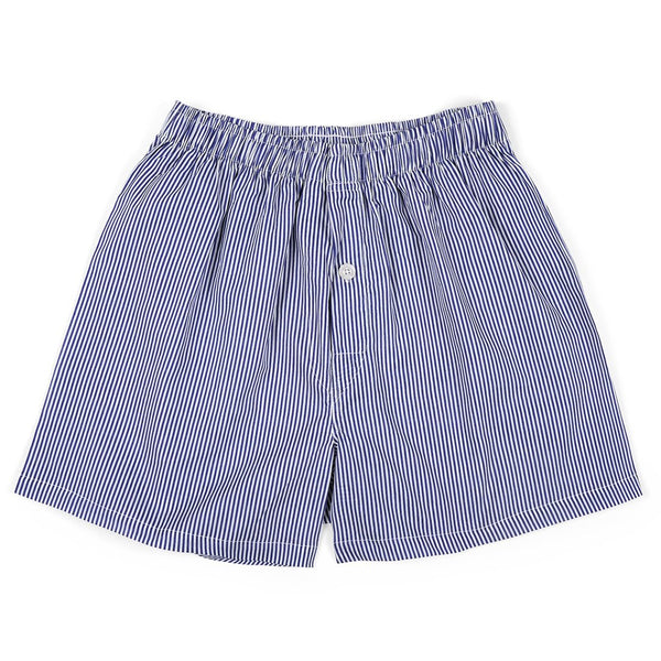 Ticking Stripe Navy Men's Boxers