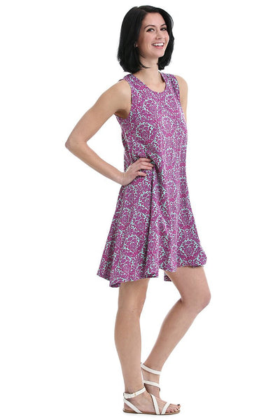 Bandana Fit and Flare Dress