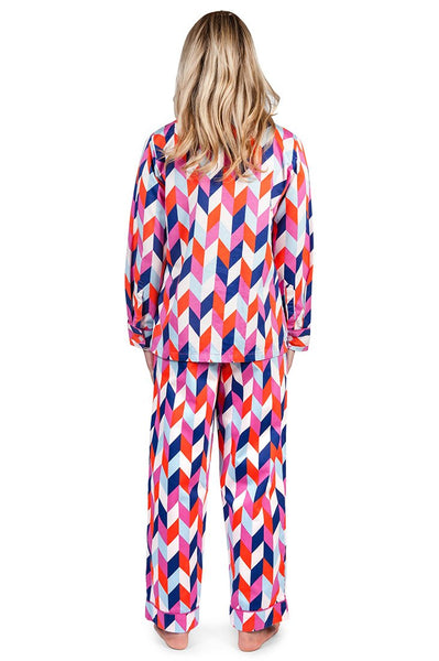 Polly Women's Sateen Pajama Set