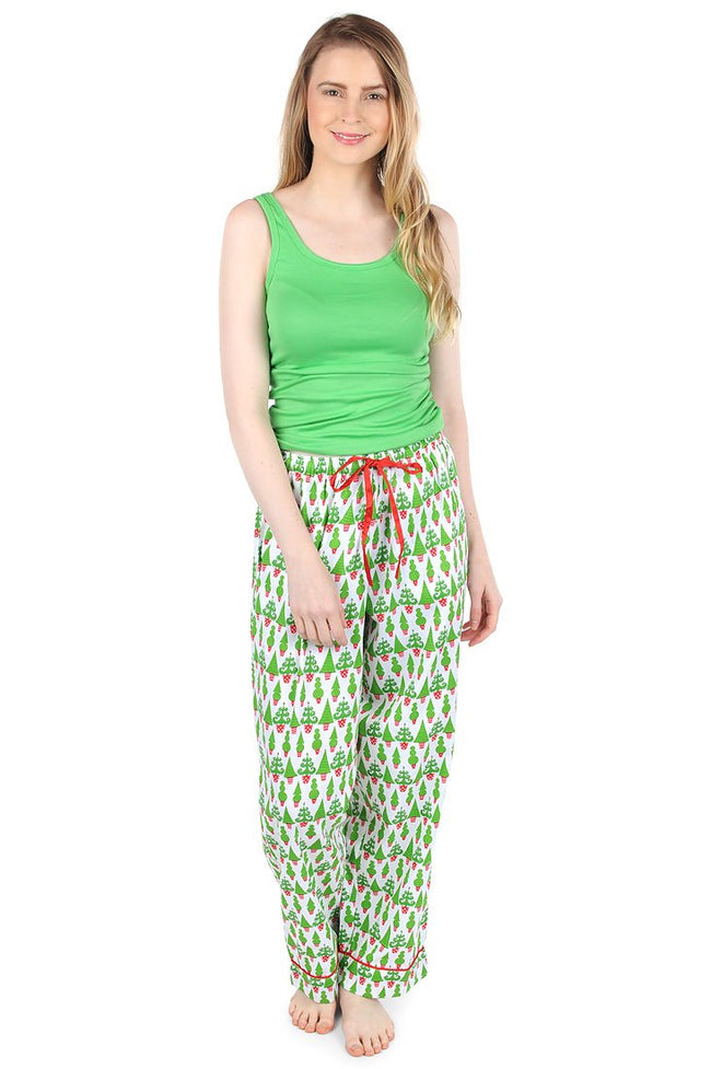 Tangled Tinsel Sateen Lounge Pant
