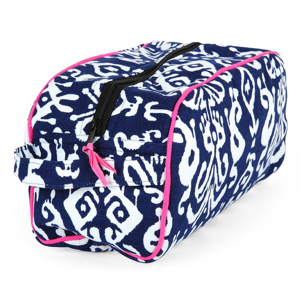 Ikat Navy Travel Kit