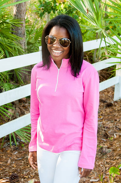 Pink Pullover Shirt