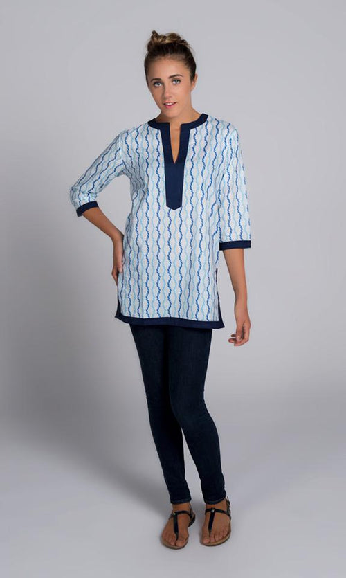 Sailor Blue Kurta Tunic