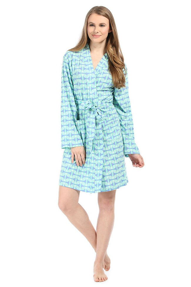 Alice Tranquil Knit Robe