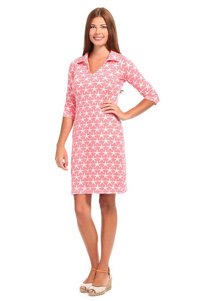 Starfish Coral Hamilton Dress