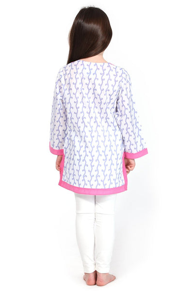 Vivienne Lavender Girl's Cover Up