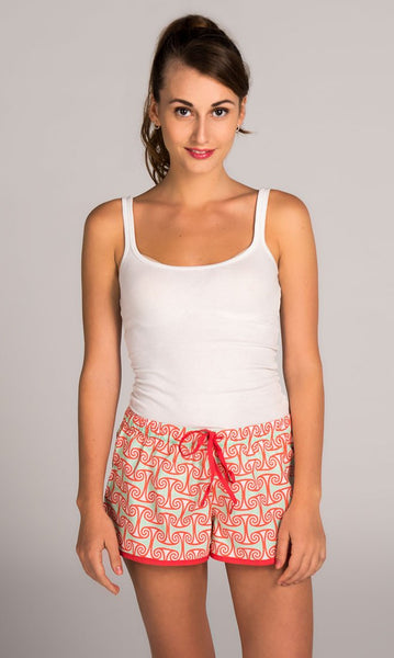 Alice Coral Pink Women's Boxers