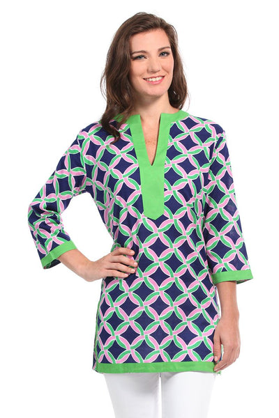 Savannah Navy Tunic