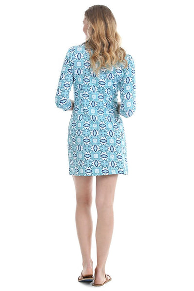 Color Burst Blue Hamilton Dress Pre-Pack
