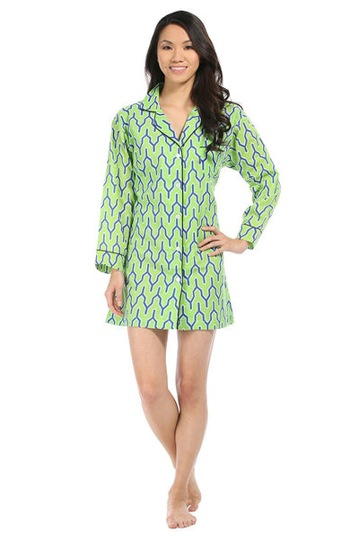 Parker Green Bed Shirt