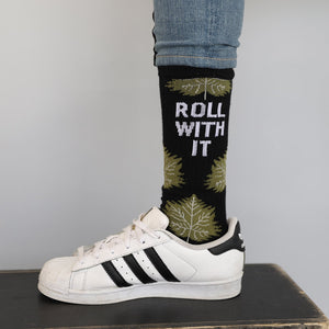 ROLL WITH IT Socks