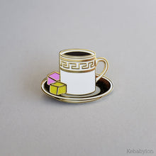 A Delightful Cup of Coffee Pin