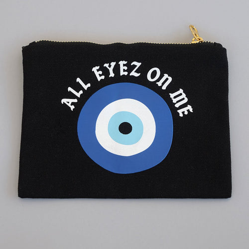All Eyez On Me Makeup Zip Bag