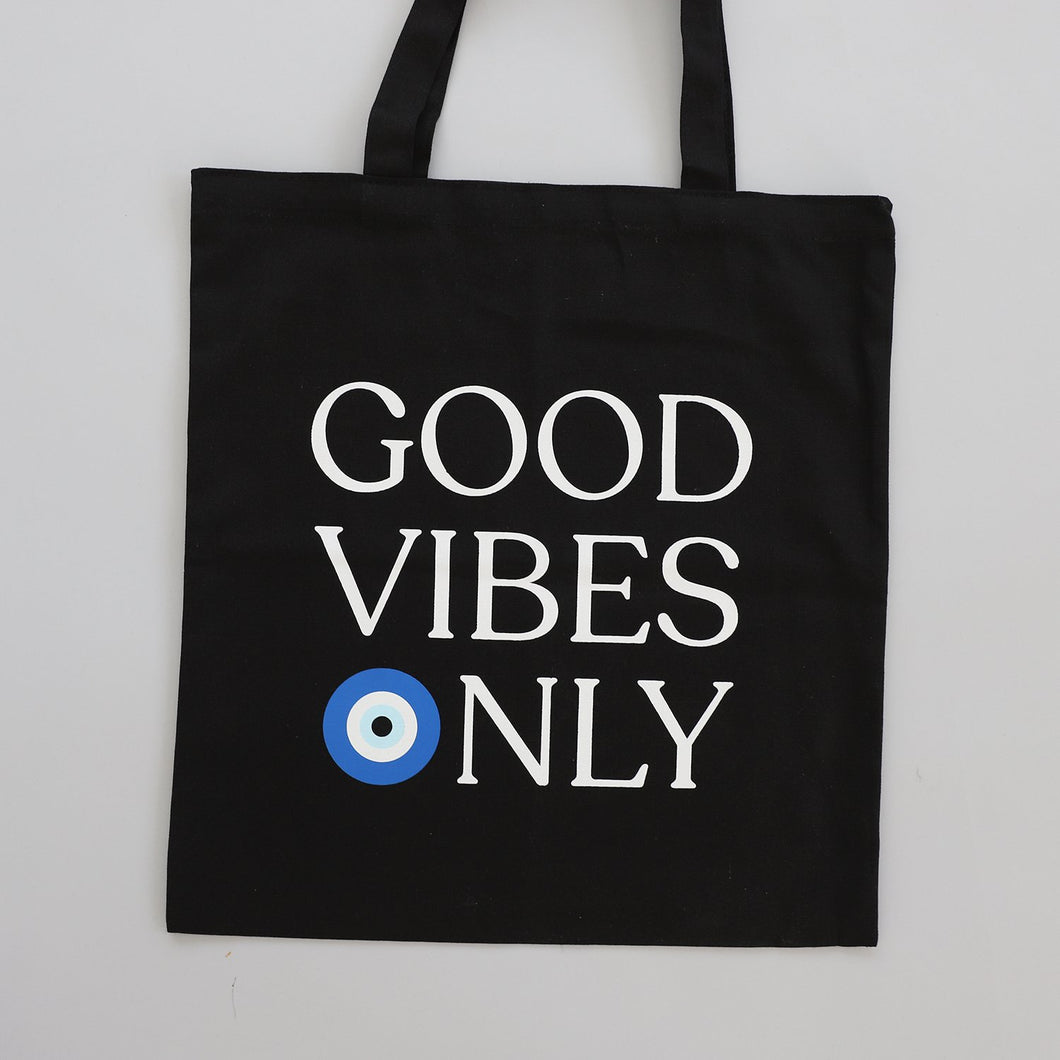 Good Vibes Only Tote Bag