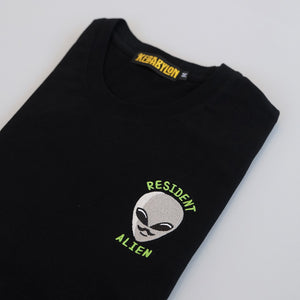 Resident Alien Embroidered T-Shirt
