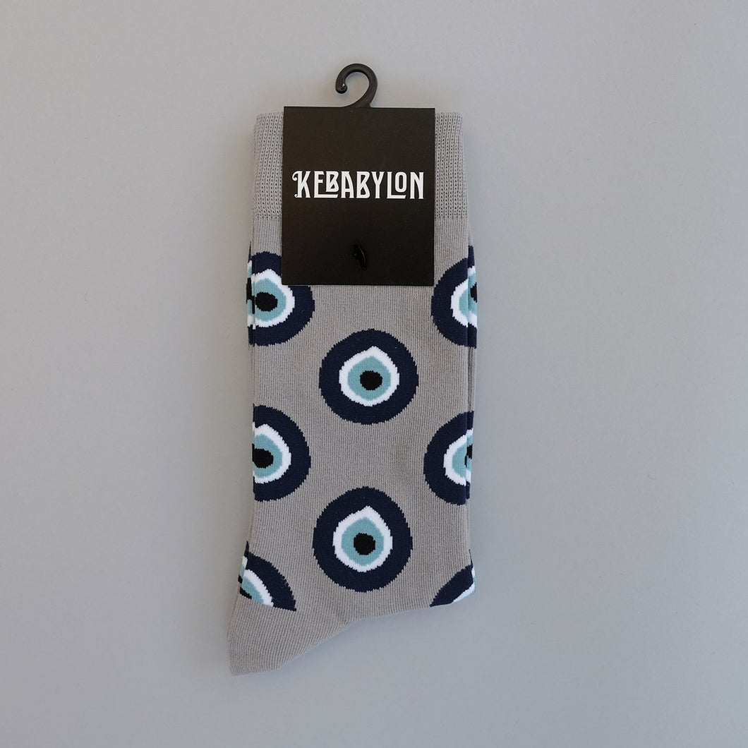 SOLD OUT - Evil Eye Socks
