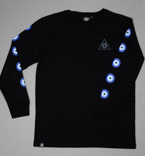 ONE EYE OPEN - EVIL EYE Long Sleeve T-Shirt