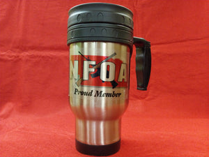 NFOA 12oz Stainless Steel Travel Mug - AP Touch