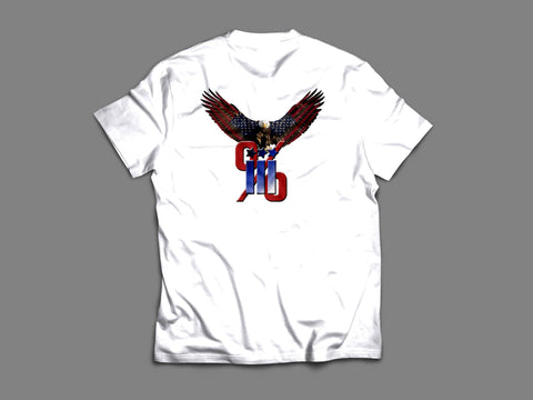 Three % T-Shirt with Eagle - AP Touch