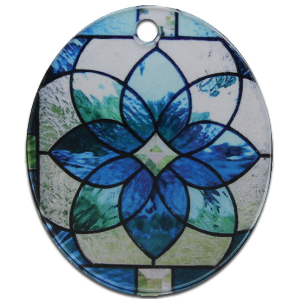 Acrylic Oval Portrait Ornament - AP Touch