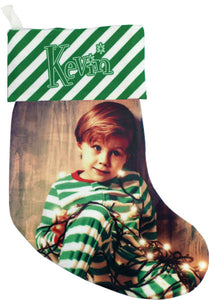 "13.5"" Fleece Holiday Stocking - AP Touch"