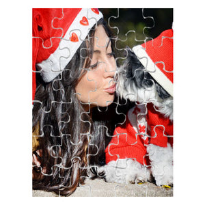 Glossy 30 Piece Rectangle Puzzle - AP Touch
