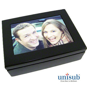 Sublimation  Espresso Black Keepsake Box - AP Touch