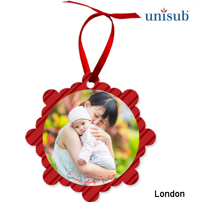 London ChromaLuxe Aluminum Ornament- White Gloss - AP Touch